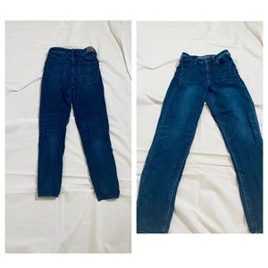 AE Super high rise denim